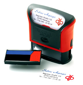 Self Inking Stamp - Multi Colour